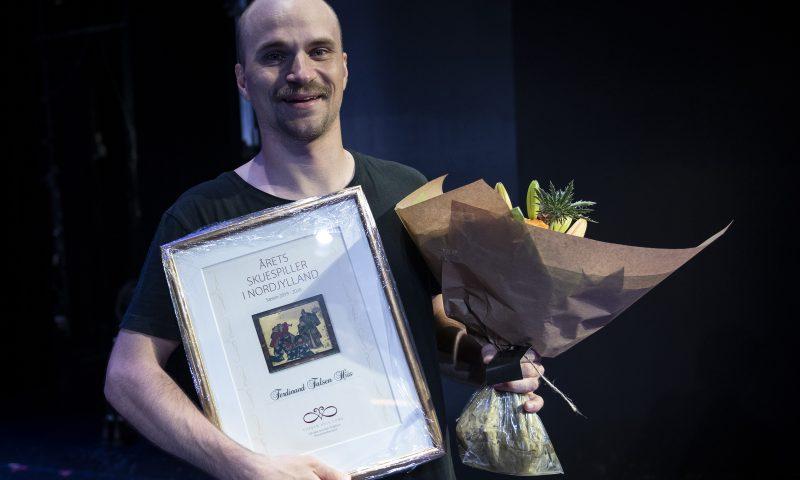 Årets skuespiller på Aalborg Teater. Foto: © Michael Bo Rasmussen / Baghuset. Dato: 19.06.20