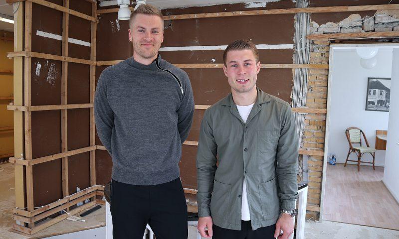 Karl Martin Hosbond (tv) og Mikkel Olsson