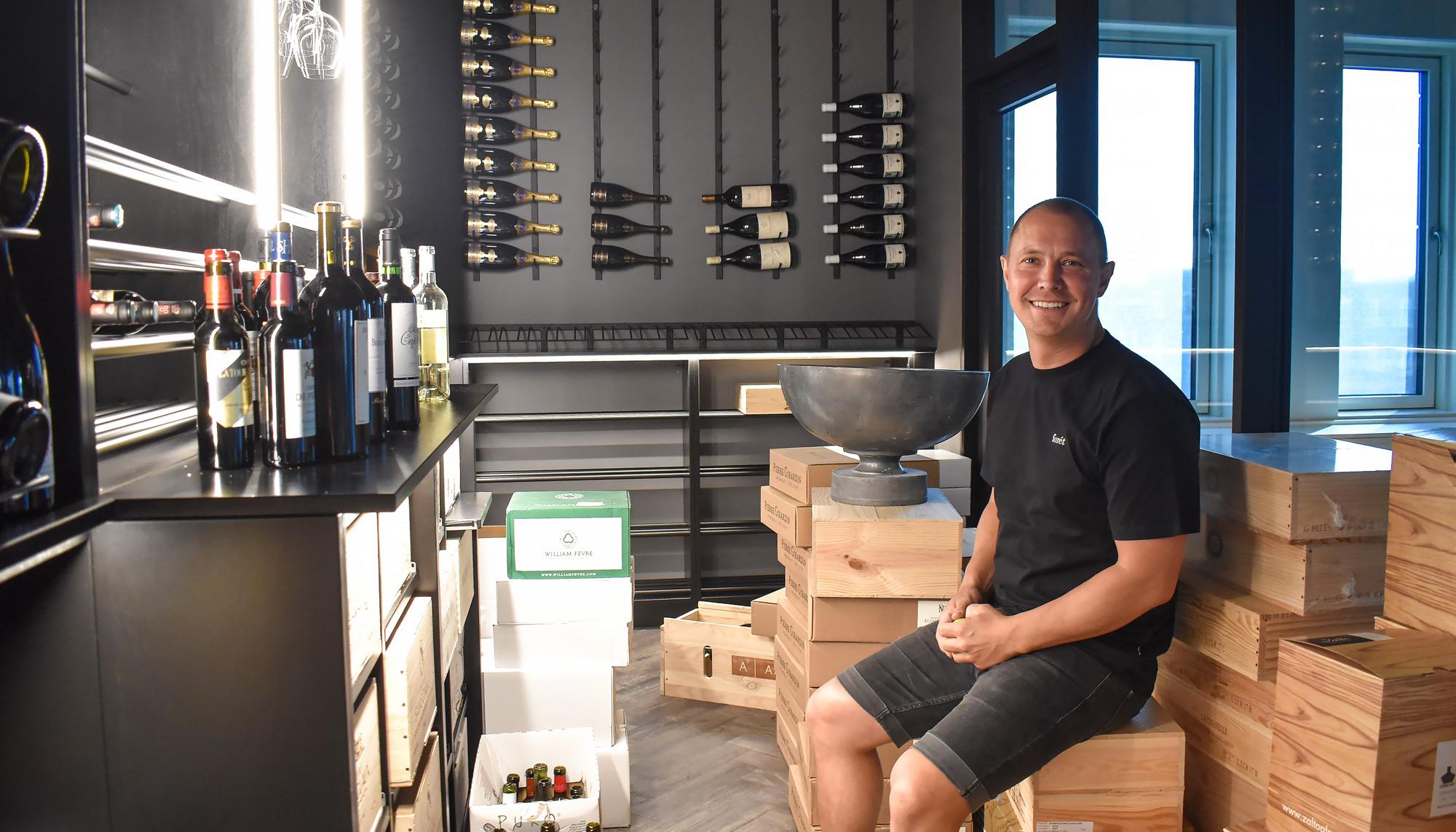 Måske Aalborgs vildeste kontor: Vin-kometerne Rare Wine er flyttet ind på Havnefronten