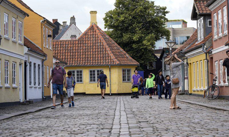 Huset, hvor H. C. Andersen blev født, er blot en af de mange seværdigheder, Odense byder på. Foto: Visit Odense