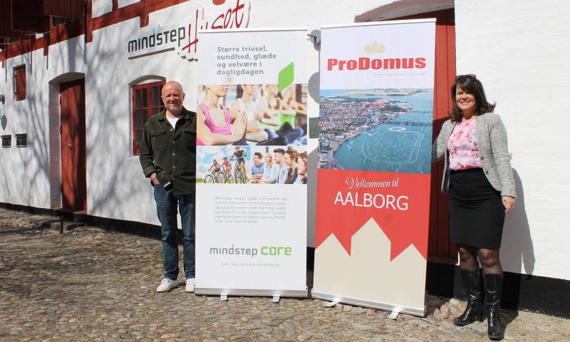 Søren Dige, Mindstep Care, og Britta Jespergaard, Prodomus