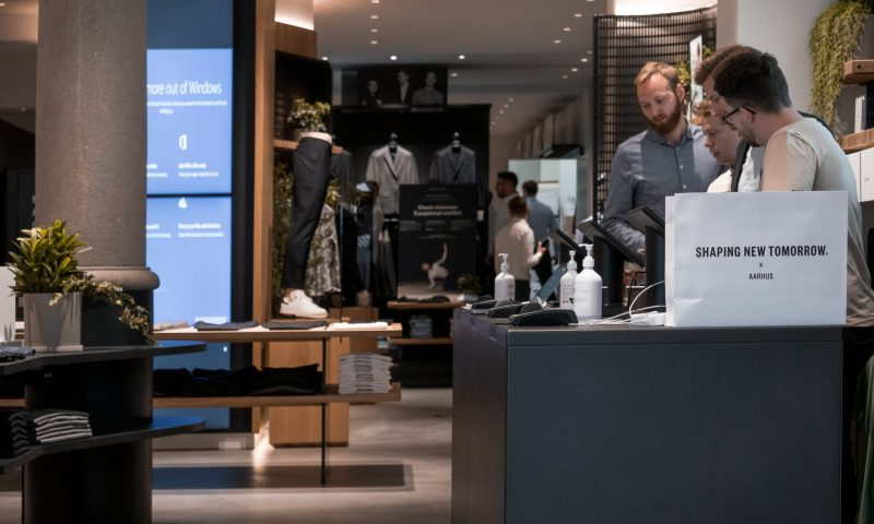 Foto fra Shaping new tomorrows nye butik i Aarhus