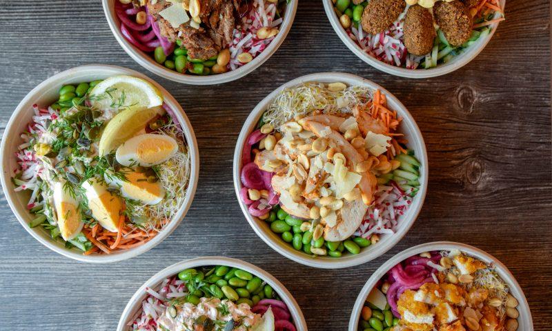 Salat-bowl på Bogø