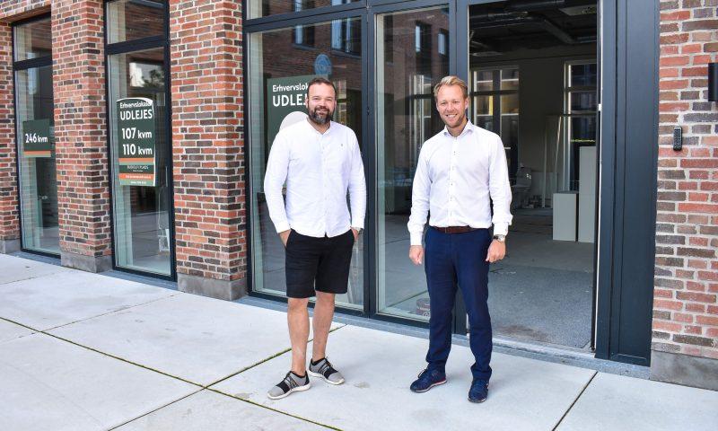 Lasse Koch (t.v.) og Mikkel Højsleth fra Budolfi Plads