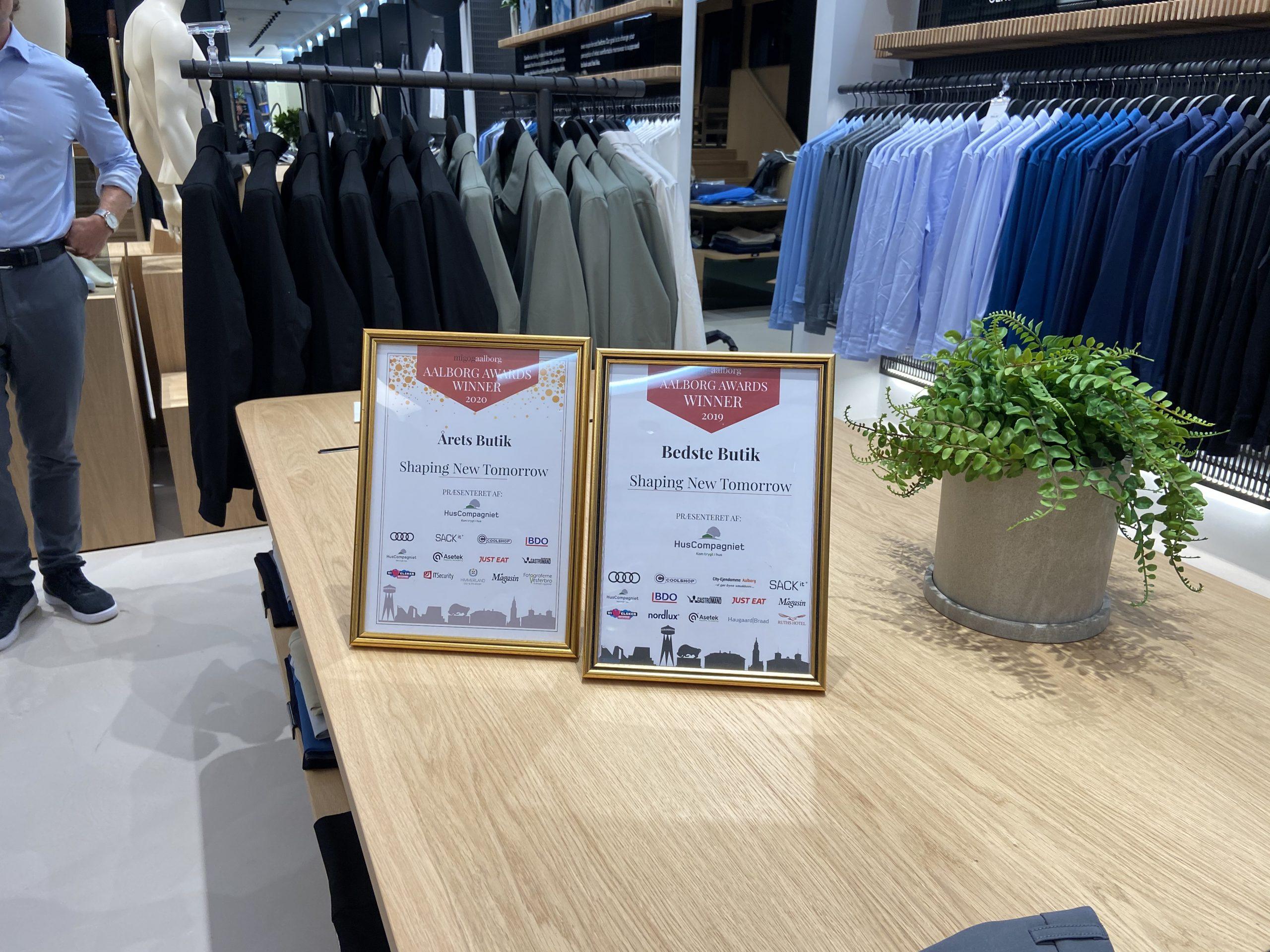 Fart på Aalborg-drenge: Shaping New Tomorrow åbner første butik i udlandet