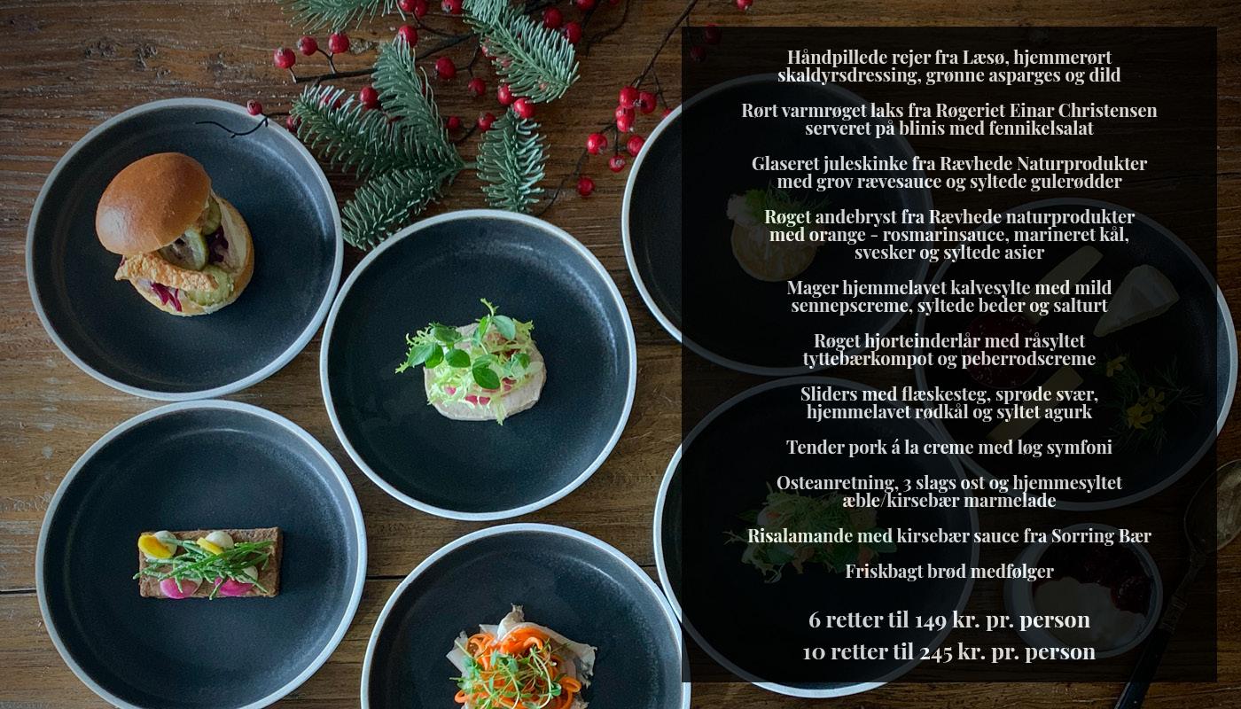 Julefrokost i 2020: De bedste bud på Aalborgs bedste julefrokost menuer