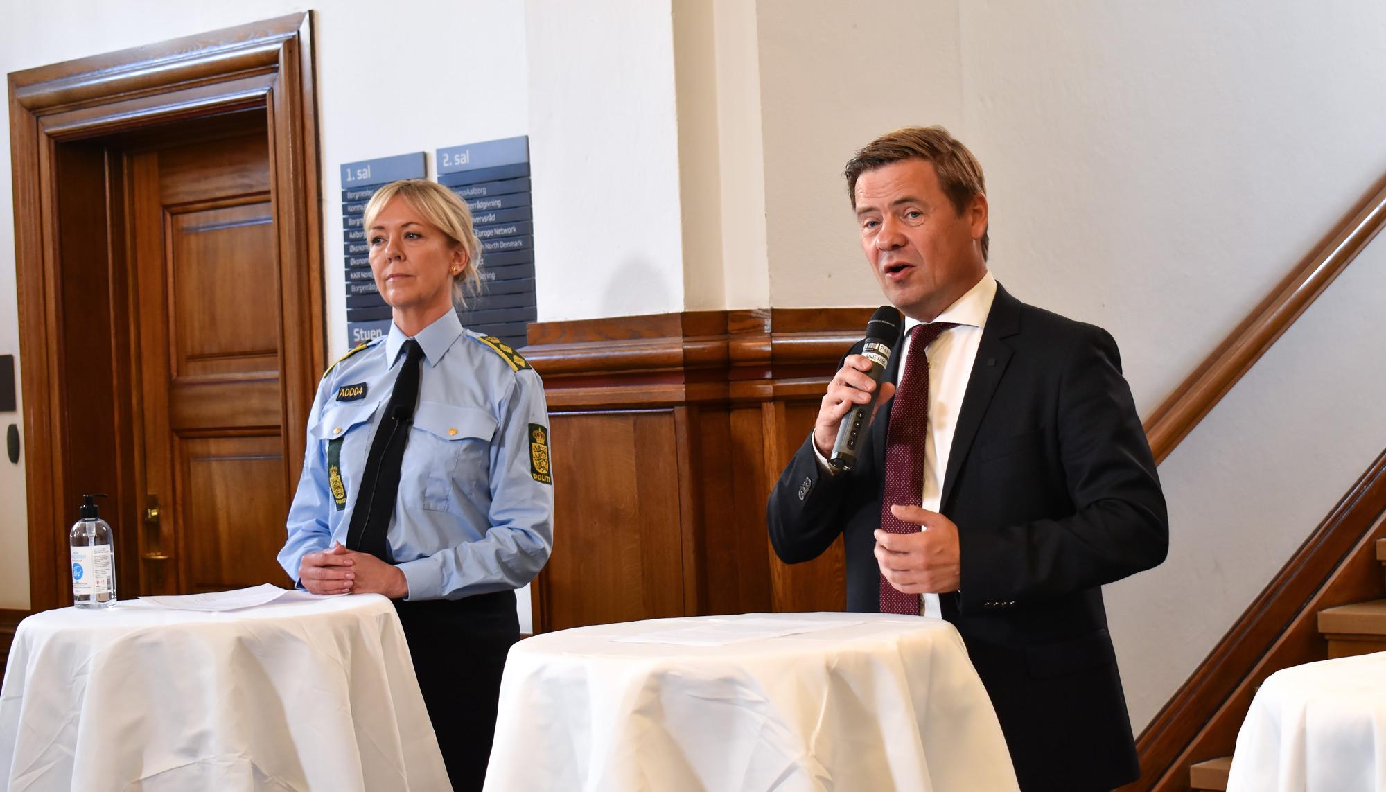 Indkalder til pressemøde: Skærpede tiltag rammer flere dele af Danmark