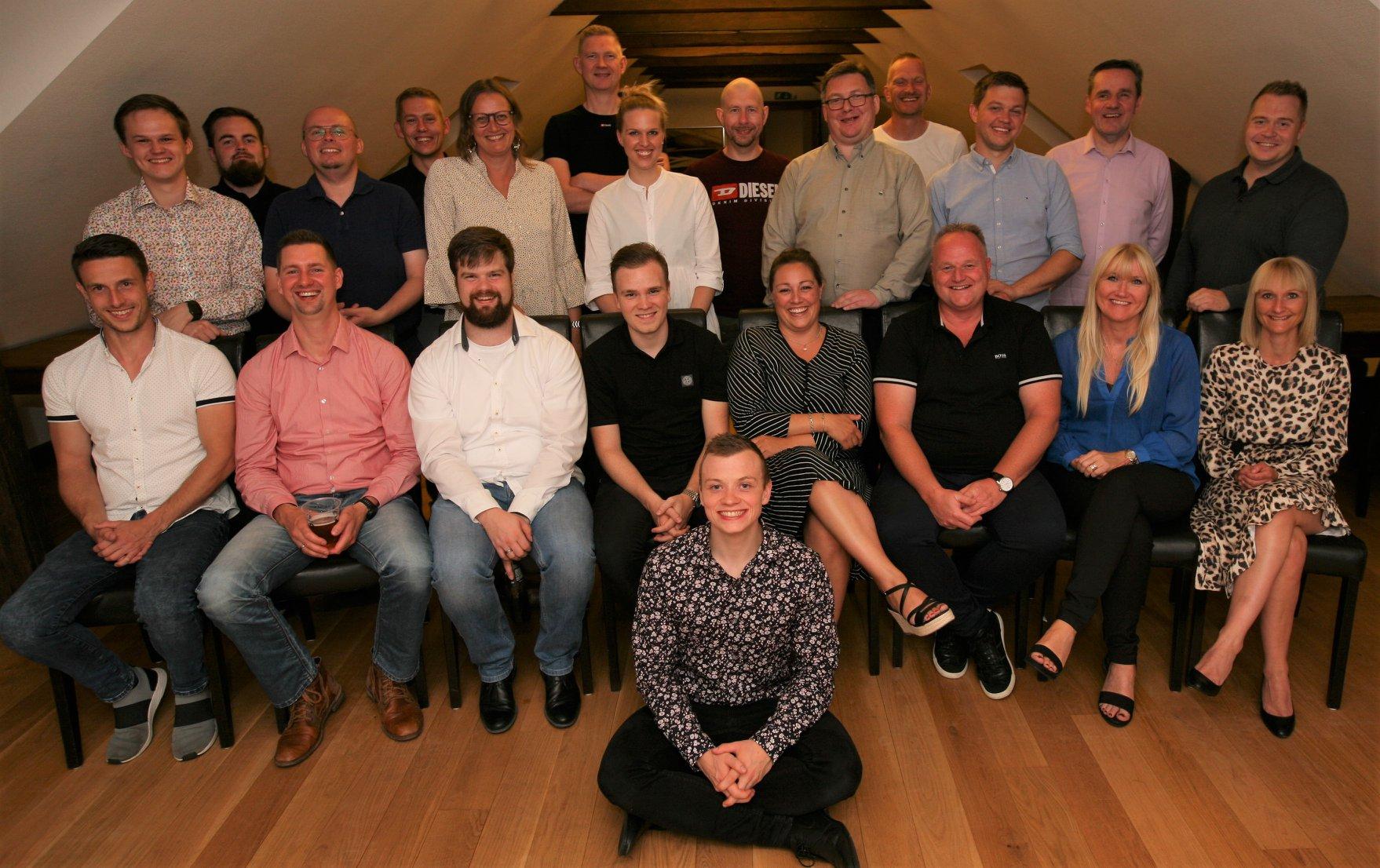 ITSecurity fejrer snart 30 års-jubilæum: Glade medarbejdere skaber vækst og tilfredse kunder