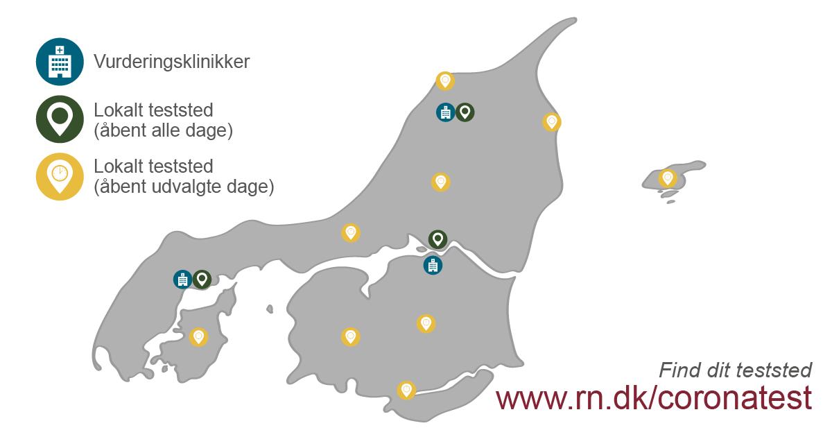 Nye retningslinjer: Sådan bliver du fremover coronatestet i Nordjylland