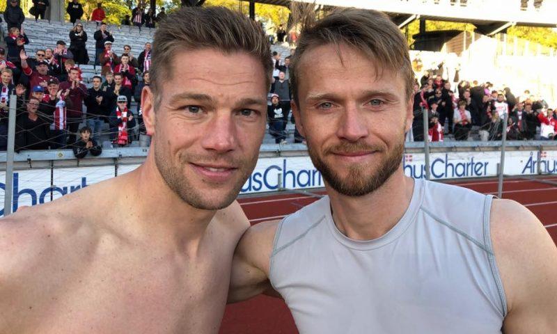 Kasper Risgård og Rasmus Würtz Foto: AabSport
