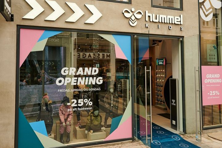 Her ses Hummel Kids butikken i Aarhus