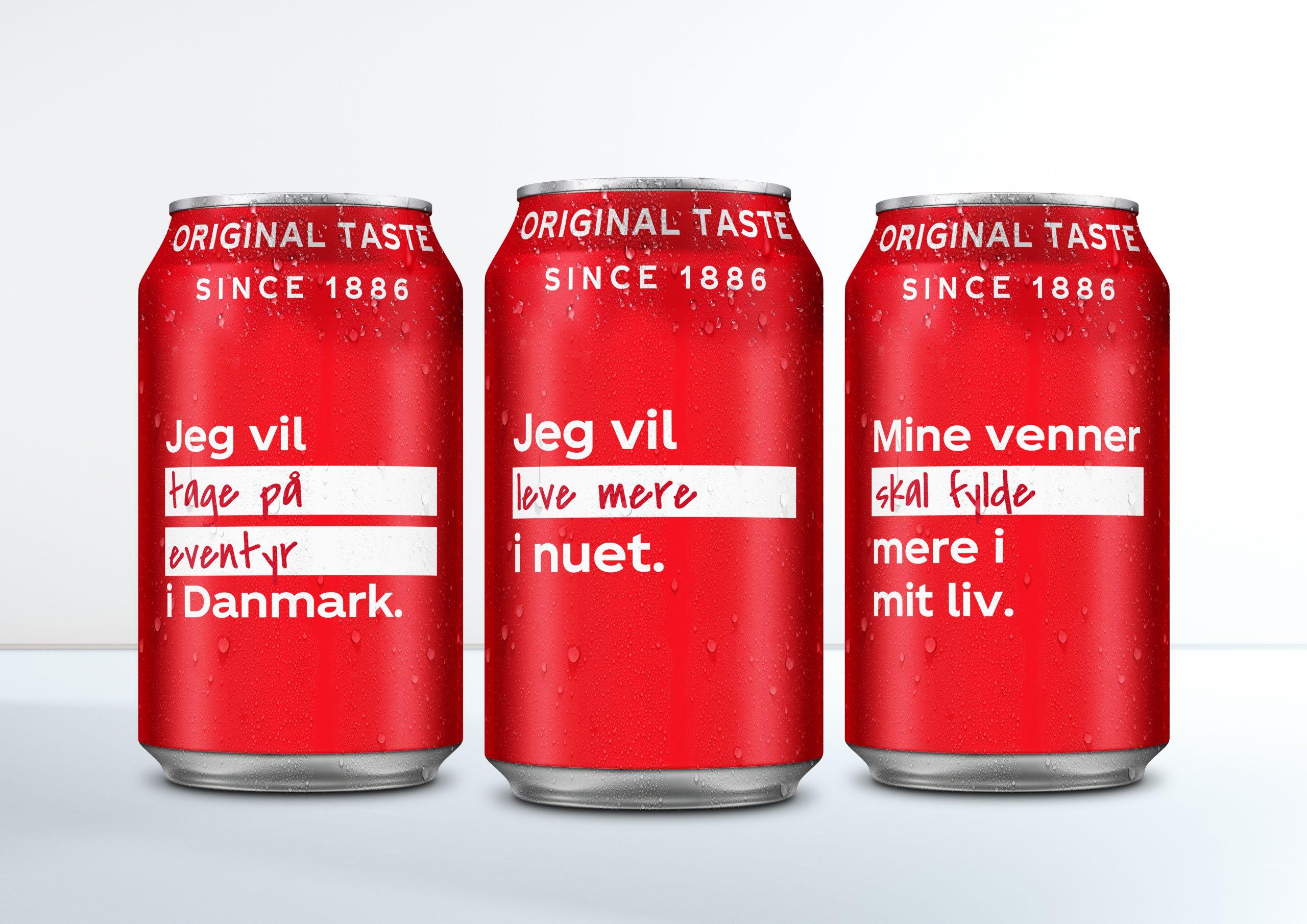 Et helt nyt liv: Coca-Cola sætter nordjyders forsæt på etiketterne