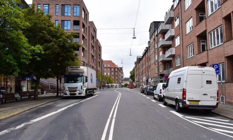 Arkivfoto Vingårdsgade