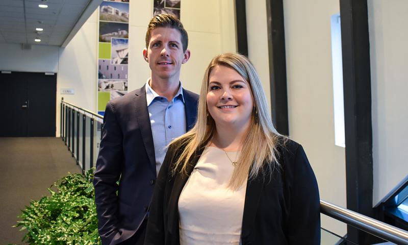 Kasper Buttler og Malene Pedersen har begge oplevet stor personlig og faglig udvikling hos BDO og har store ambitioner for fremtiden.