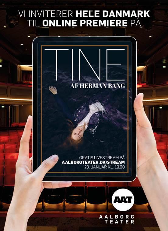 Som det første teater i Danmark: Aalborg Teater livestreamer premiere på nyt stykke