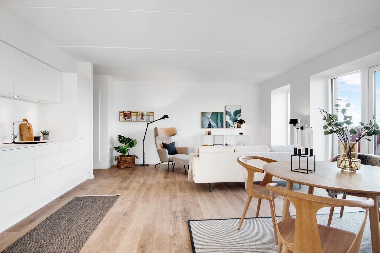 Lækre lejligheder med udsigt over Aalborg: Kom til Åbent Hus i Parkbyen