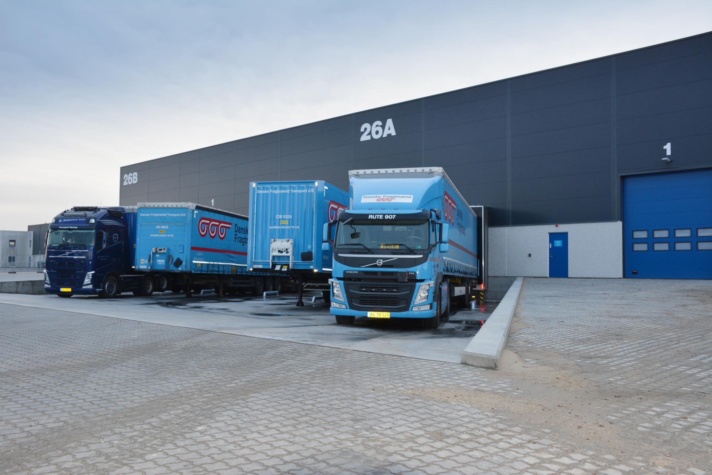 16.000 kvadratmeter: Danske Fragtmænd opruster med spritnye lagerfaciliter på Aalborg havn