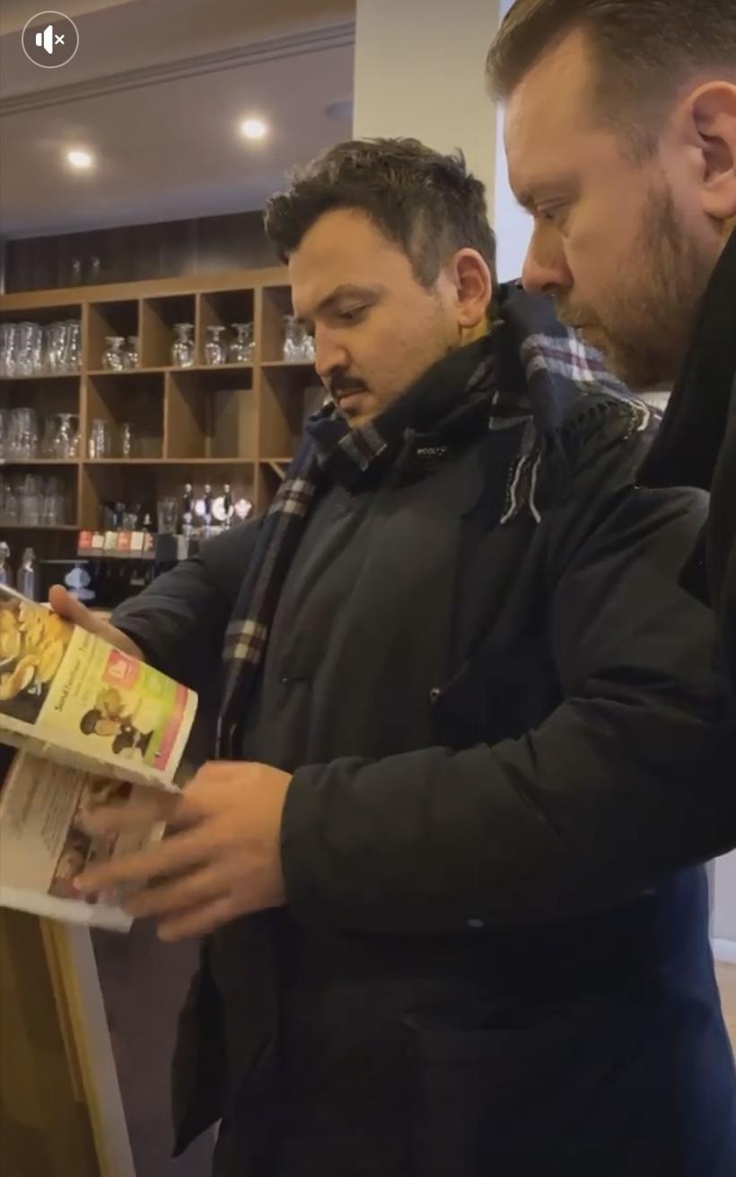 Kongen af flæskestegsburgere: Umut kigger på lokaler til vild Aalborg-restaurant