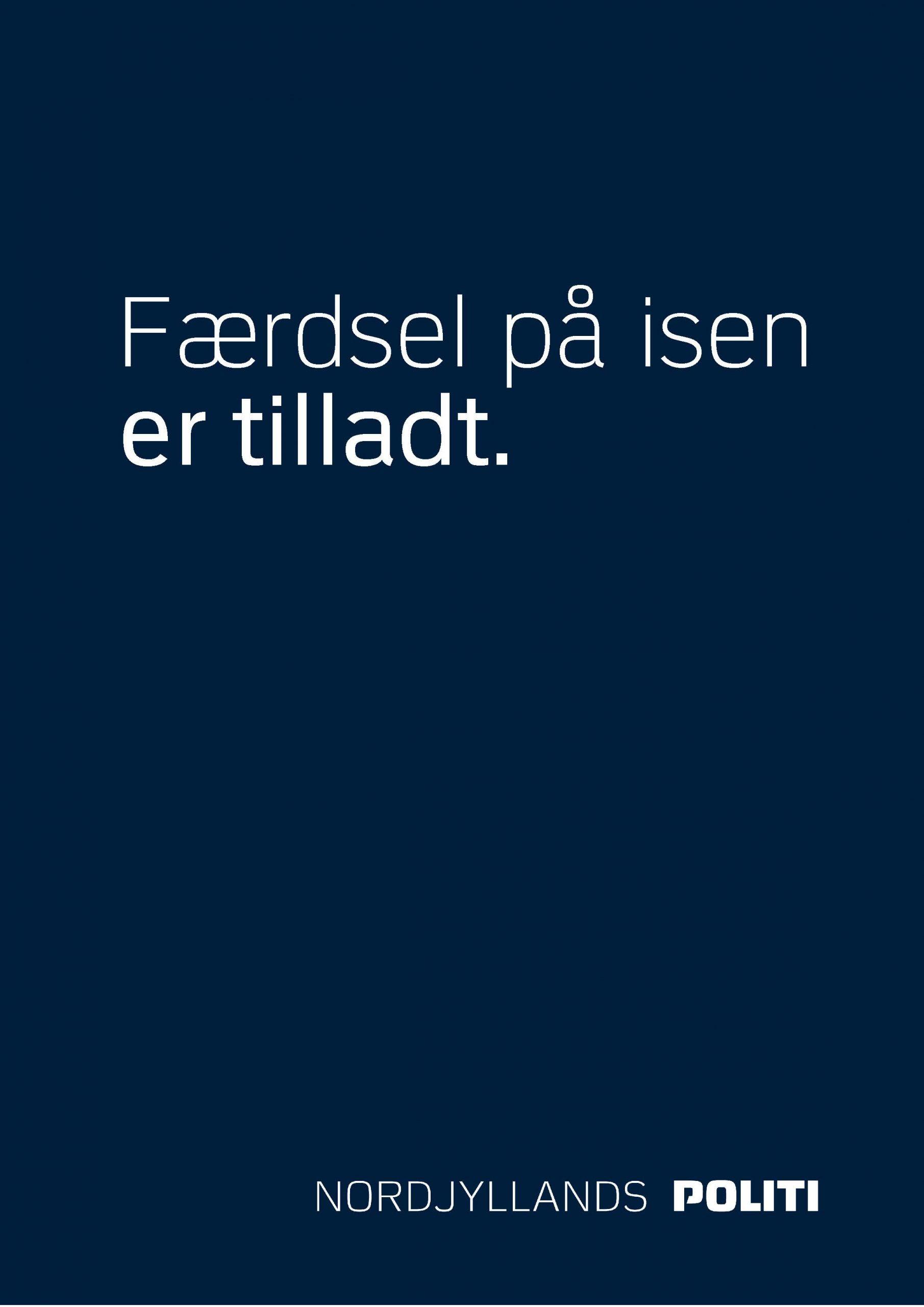 Gælder flere steder i Aalborg: Her må du nu lovligt gå på isen