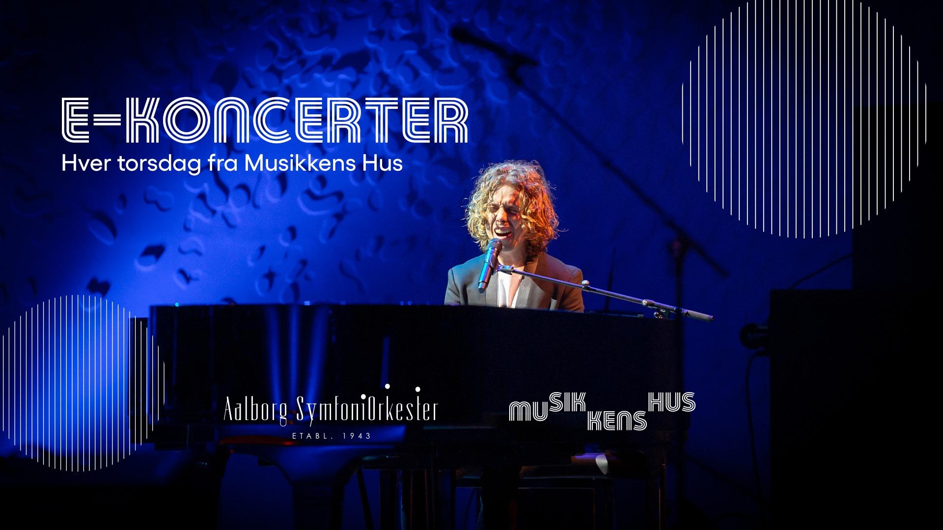 Se med helt gratis: Musikkens Hus laver online koncerter med store danske navne