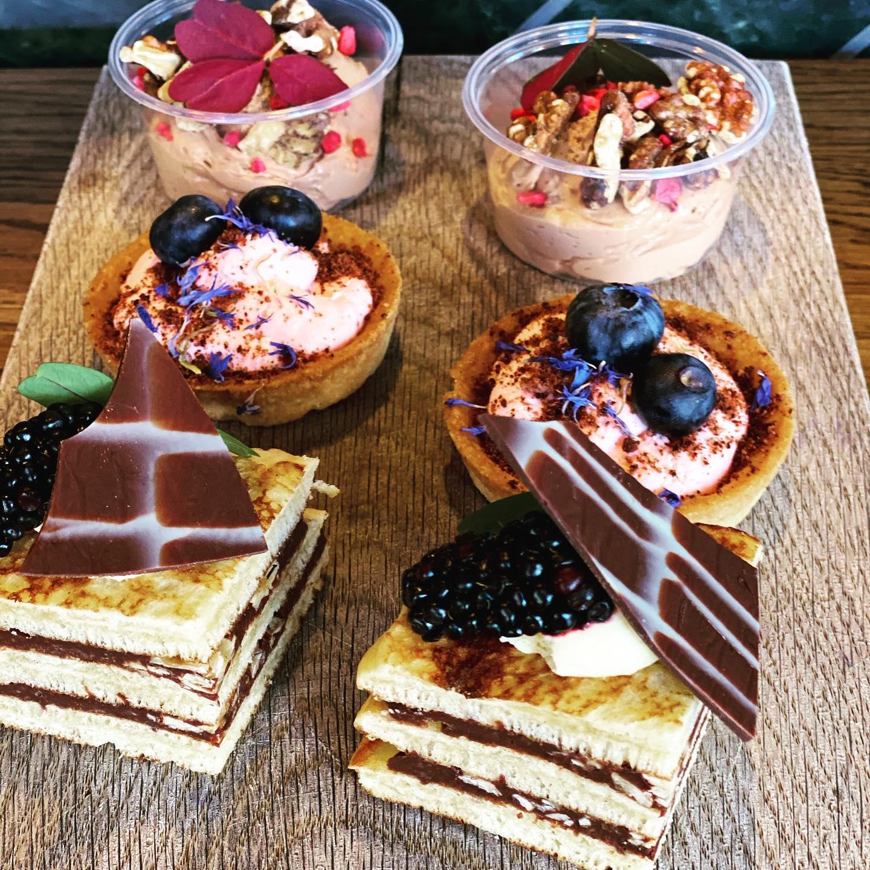 Smag den vilde pandekagesandwich: Caféministeriet lancerer ny dessert-tapas