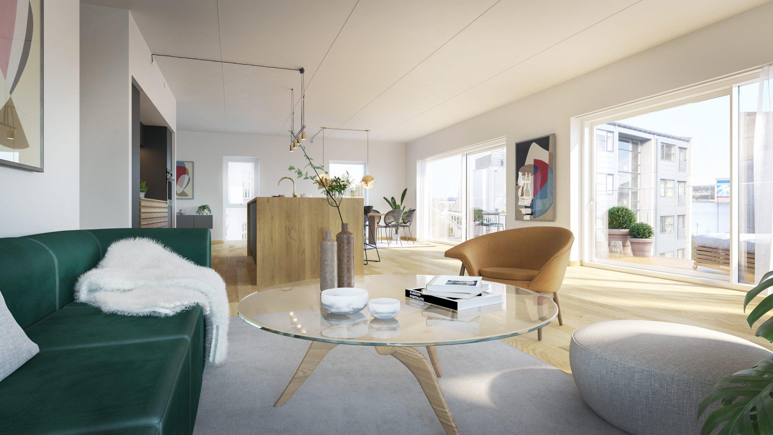 Liebhaveri i særklasse: Syv eksklusive lejligheder i Old Harbour er nu sat til salg