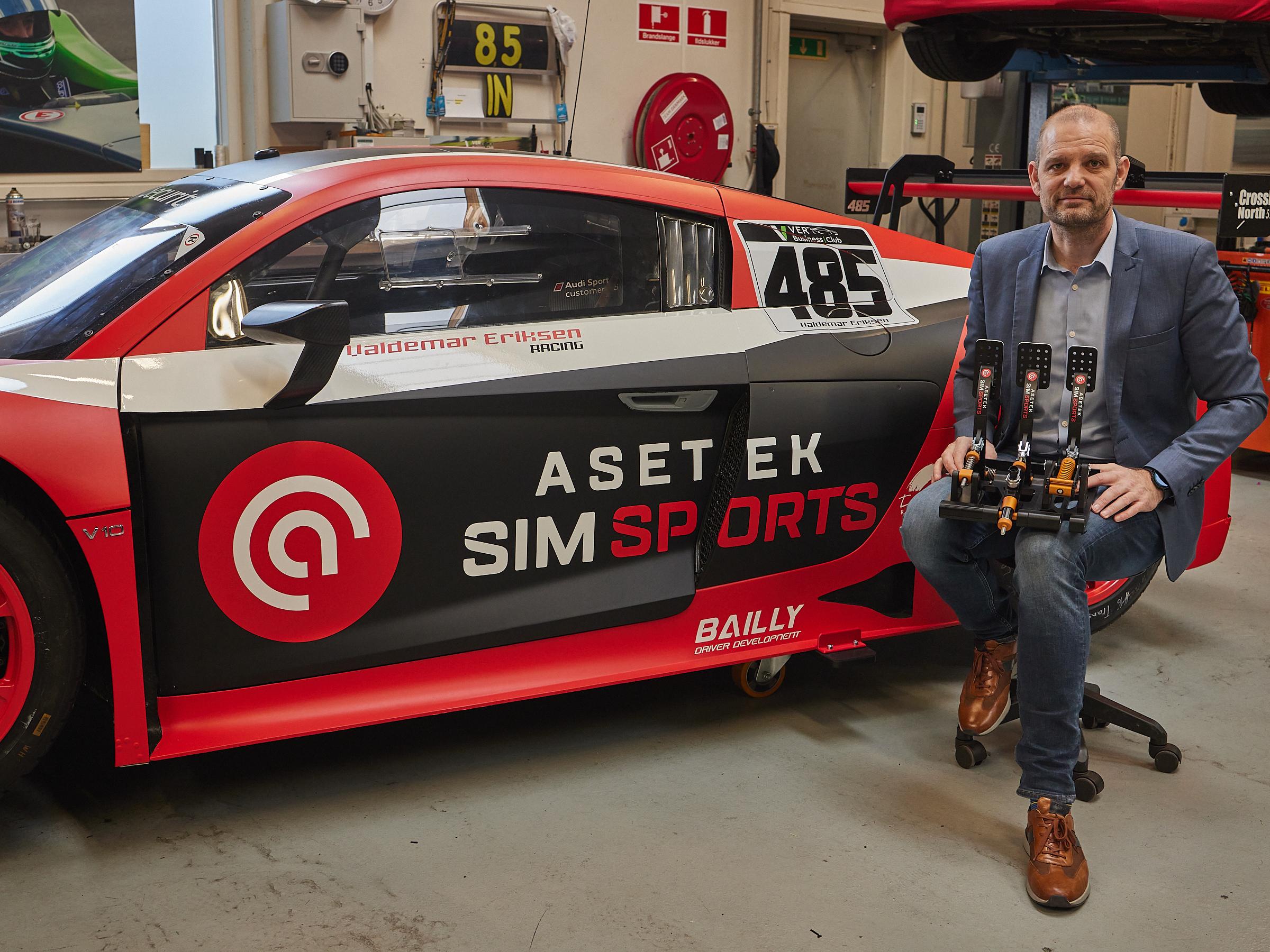 Aalborg-firma med global satsning: Asetek vil udvikle verdens bedste racingsimulatorer