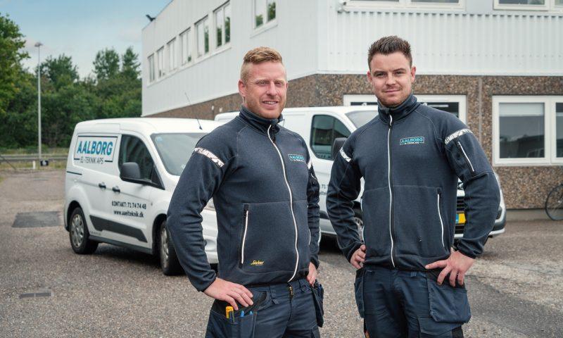 Michael Randers Thomsen (t.v.) og Mads Christiansen (t.h.)