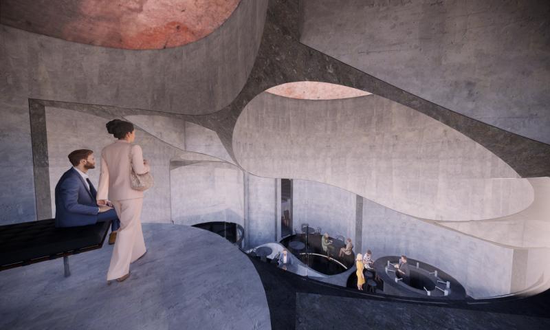 Visualisering: Elgaard Architects