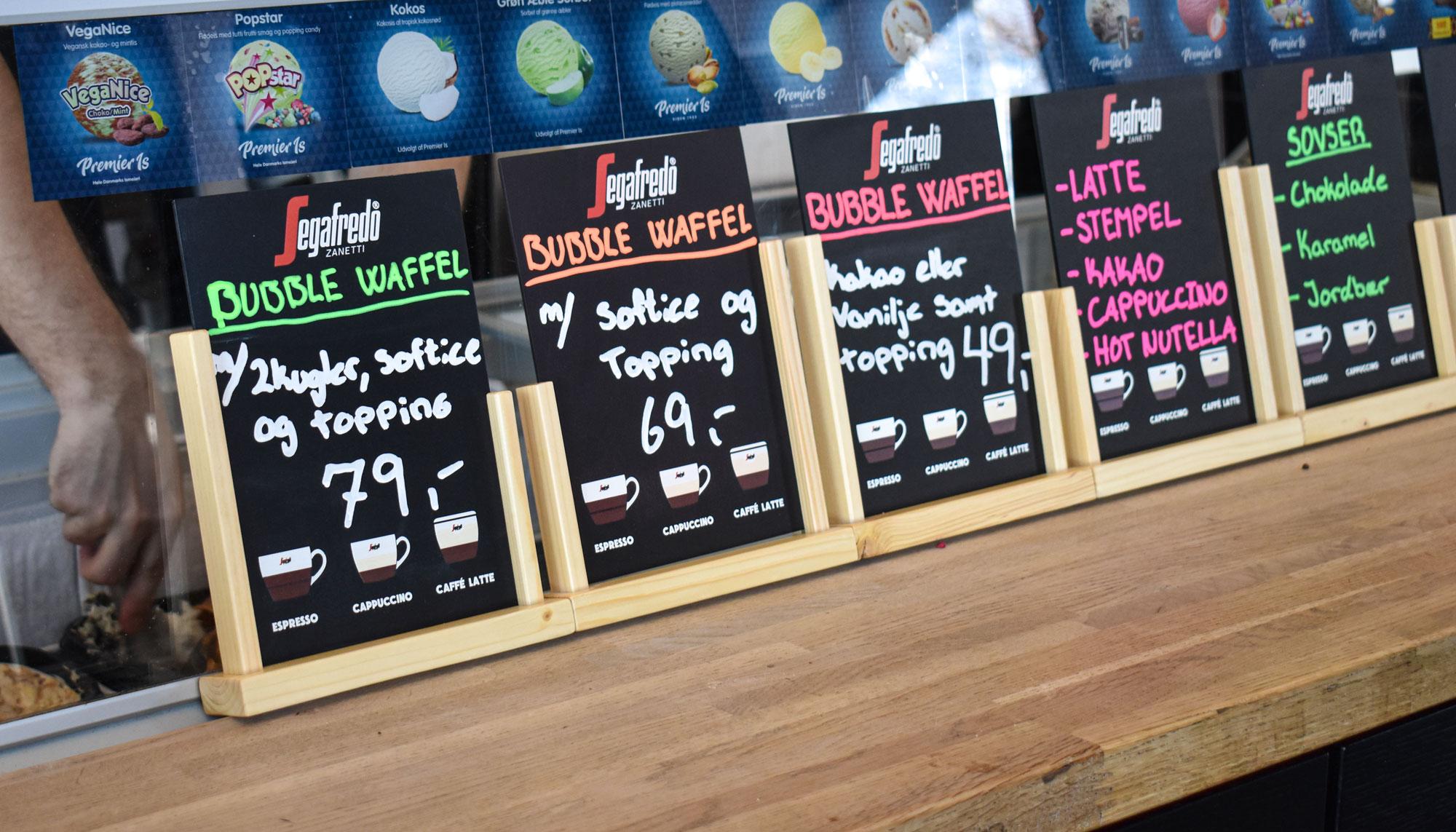 Påskenyhed i Aalborg: Nu lanceres Bubble Waffle med kakaosmag