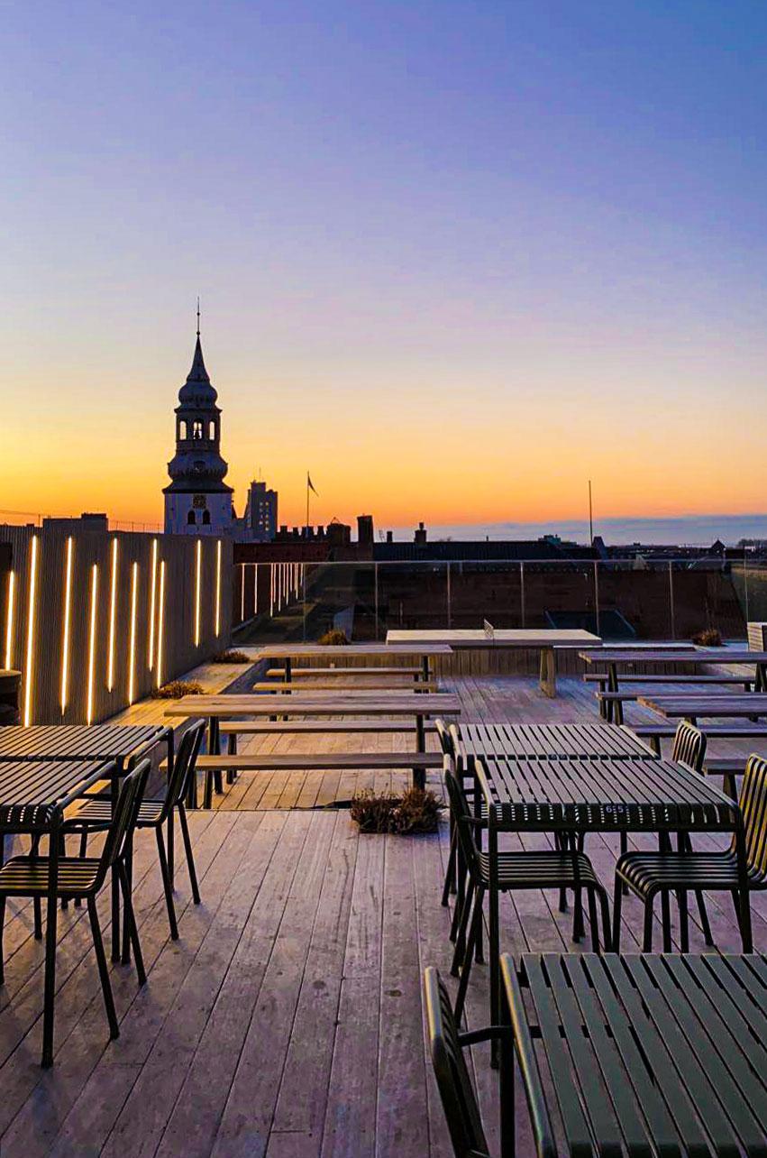 Tilbage på toppen: Salling Rooftop har åbnet udendørsbaren