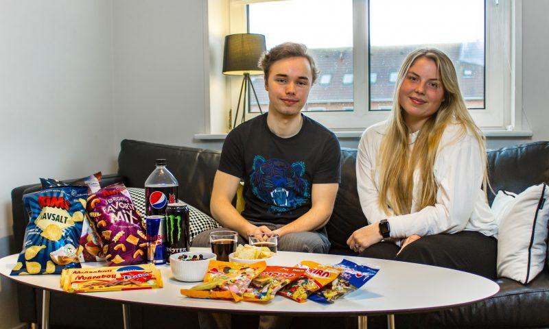 Rasmus Olsen og Caroline Thorlund