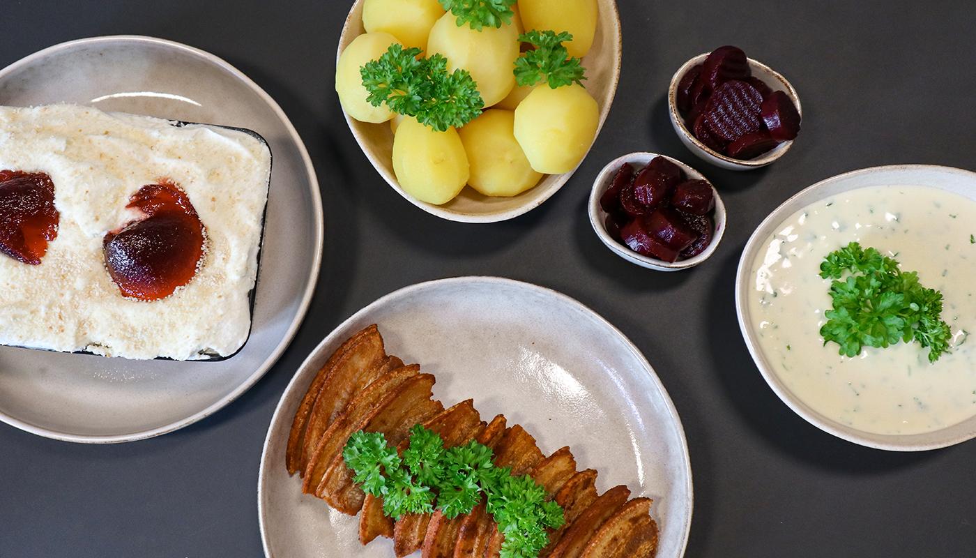"""Sidste dag med """"Jorden Rundt"""": Den står på stegt flæsk med æblekage til dessert"""