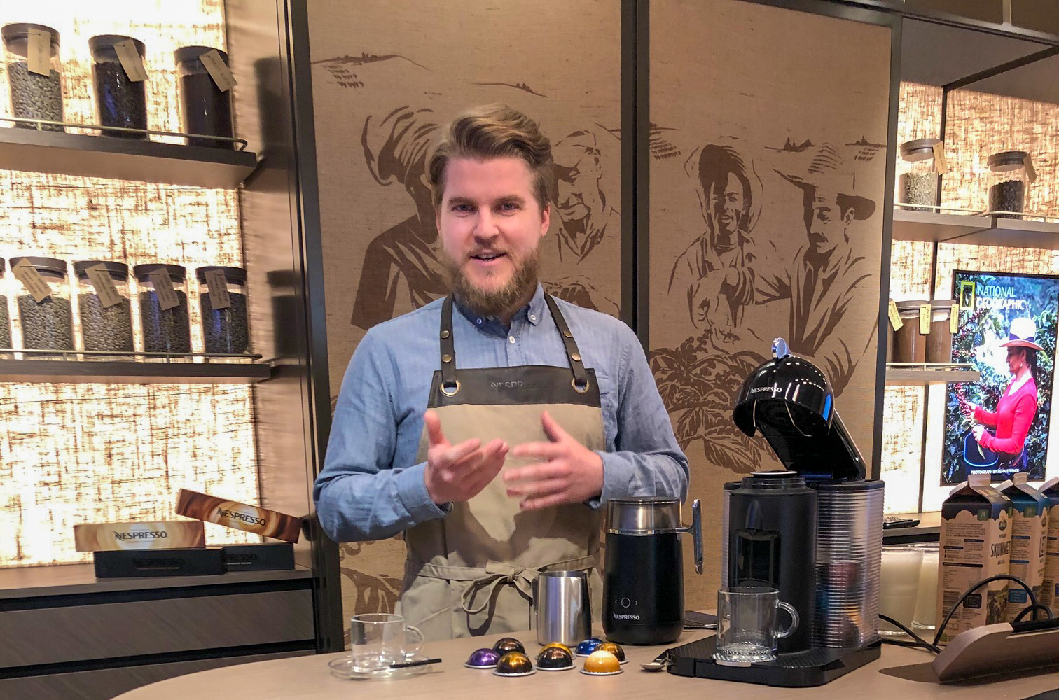 Bliv hjemmebarista: I aften kan du komme i gratis online kaffeskole