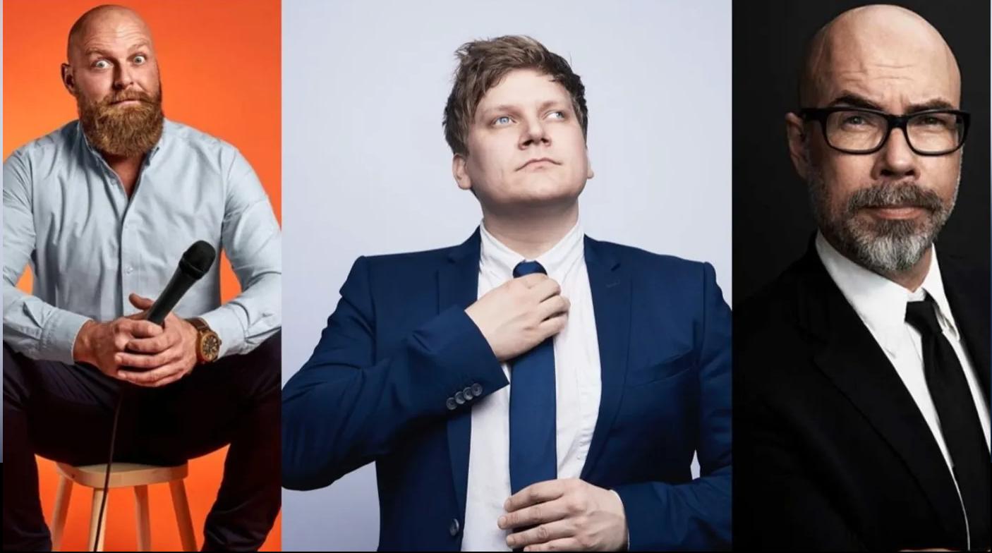 Vild aften i vente: Comedy-trio optræder i Aalborg til maj