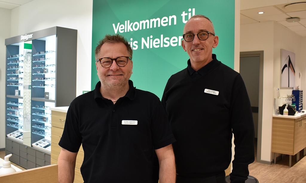 Flot ombygget butik i Aalborg Storcenter: Louis Nielsen byder velkommen med gode tilbud