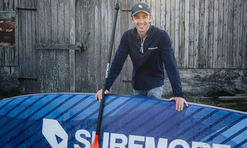 Stifter af SURFMORE, Jeppe Thomsen.