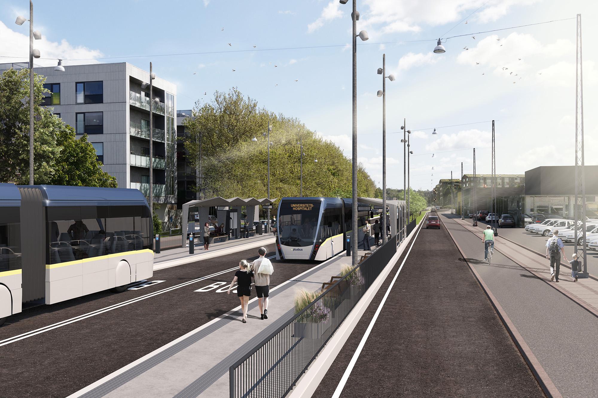 Slut med forurening og støj: Aalborg sætter 110 miljøvenlige busser på gaden