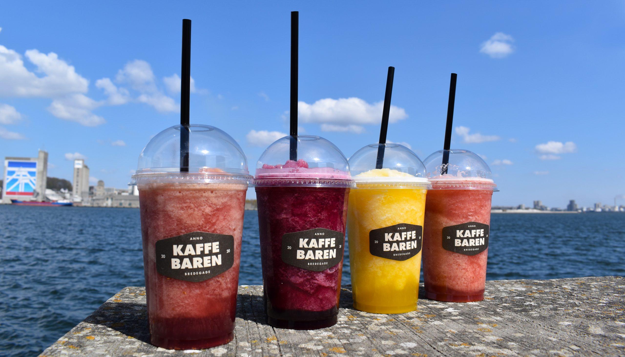 Først til mølle: Prøv de nye Fruity Ice Blends fra Kaffebaren til kun 15 kr.