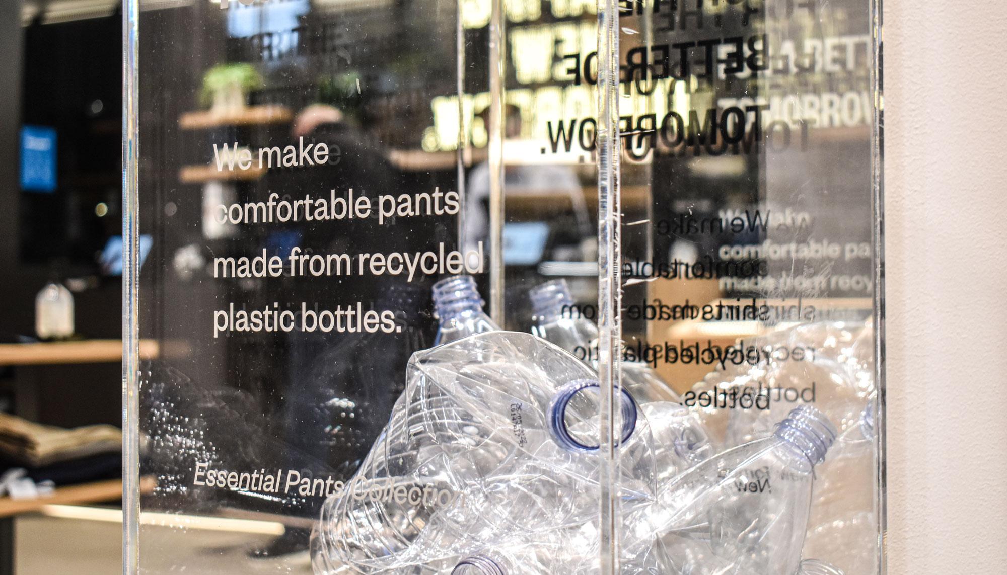 Plastic Fantastic: Nu kan du få Perfect Pants lavet af plastikflasker