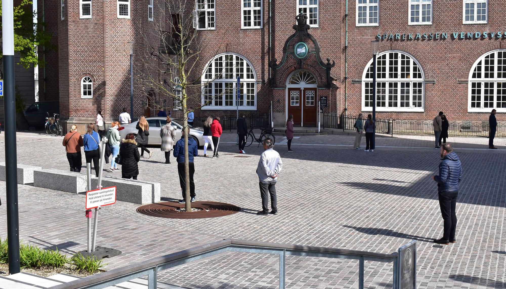 Betal dig fra køen: I morgen åbner nyt testcenter i midtbyen