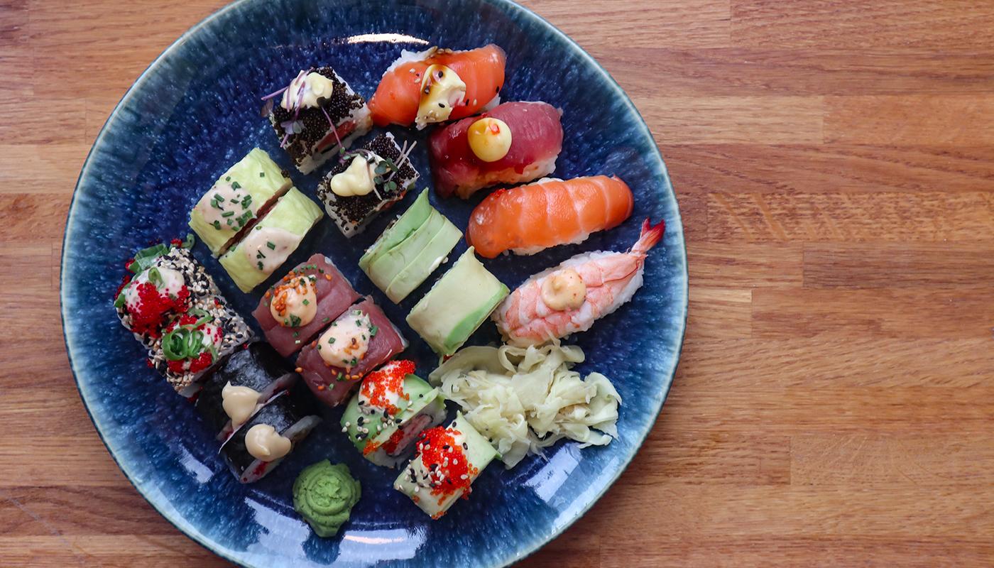 Kun med MigogAalborg: Få en lækker sushi-menu i hele maj til 109 kr.