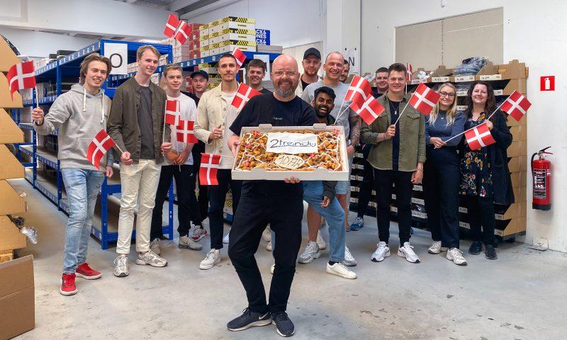 Team 2trendy fejrer fødselsdag med gode tilbud
