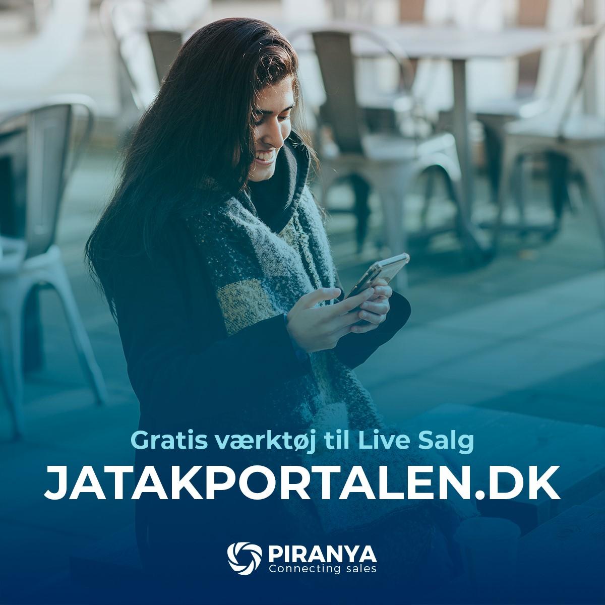 """""""Ja Tak tilbud"""" er stukket helt af: Piranya har succes med smart løsning"""