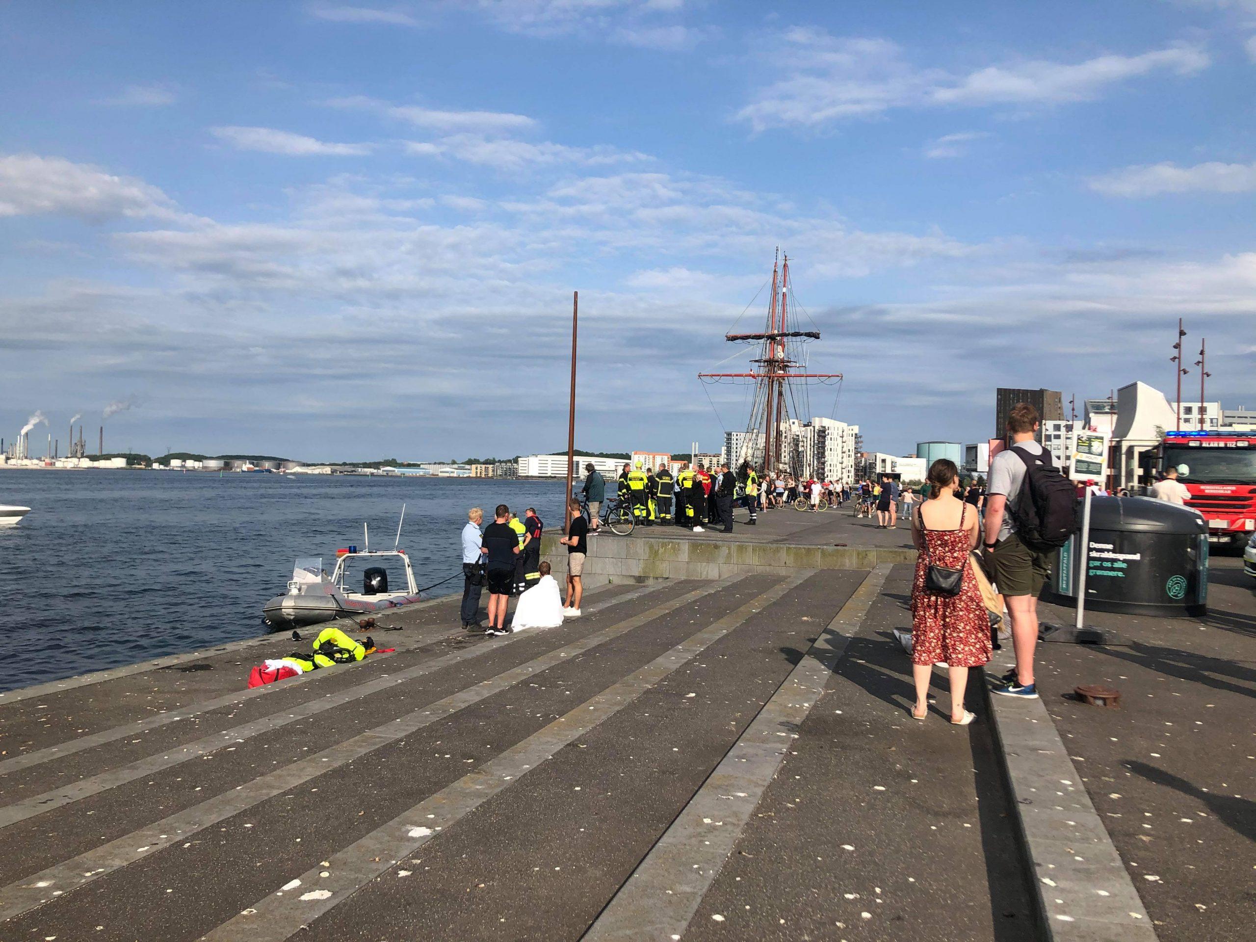 Kan sejle op til 100 km/t: Så voldsomt ud da Rib båd forulykkede