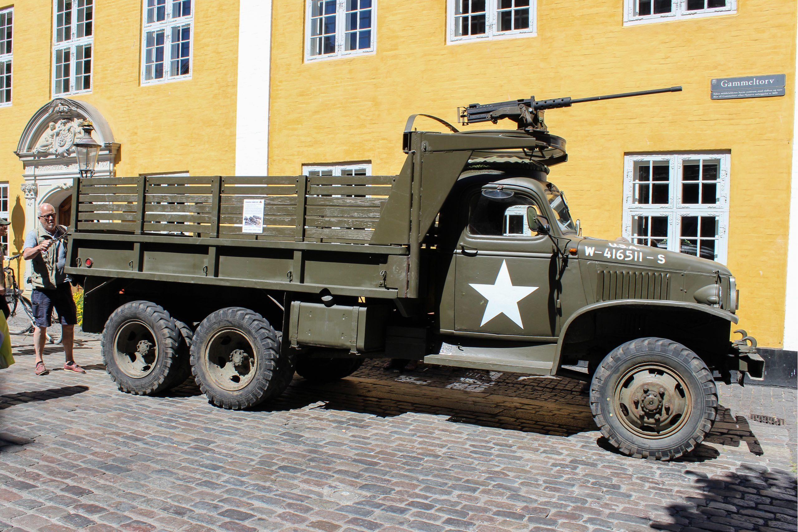 USA rykker ind: Stor amerikansk fest i Aalborgs midtby