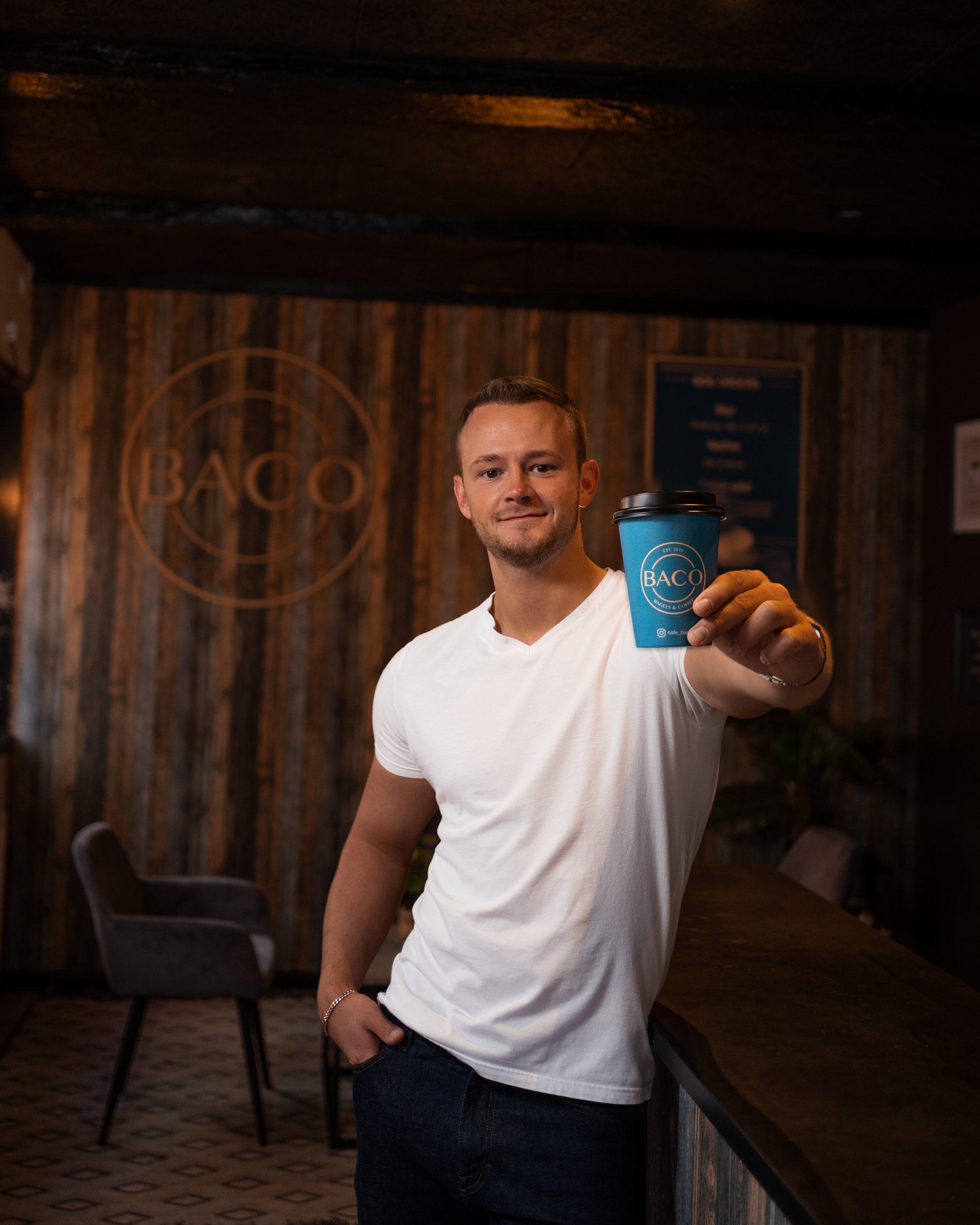 Fejres med gratis kage: BACO åbner ny kaffebar på Havnefronten