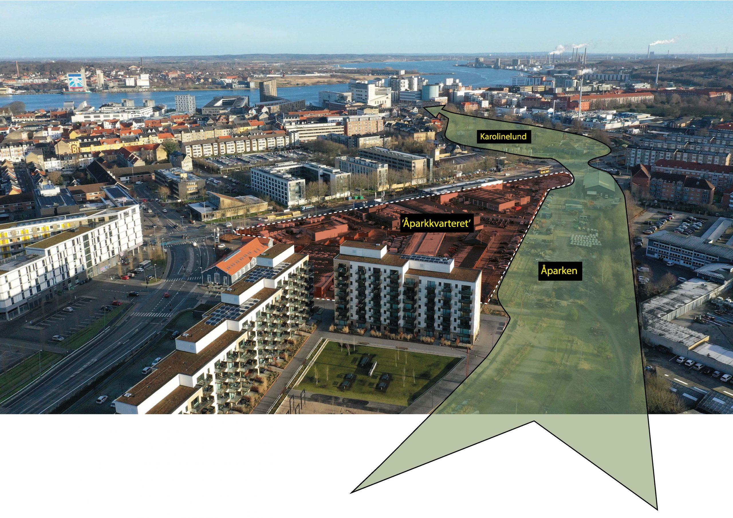 Stort naturområde: Her kommer en helt ny park midt i Aalborg