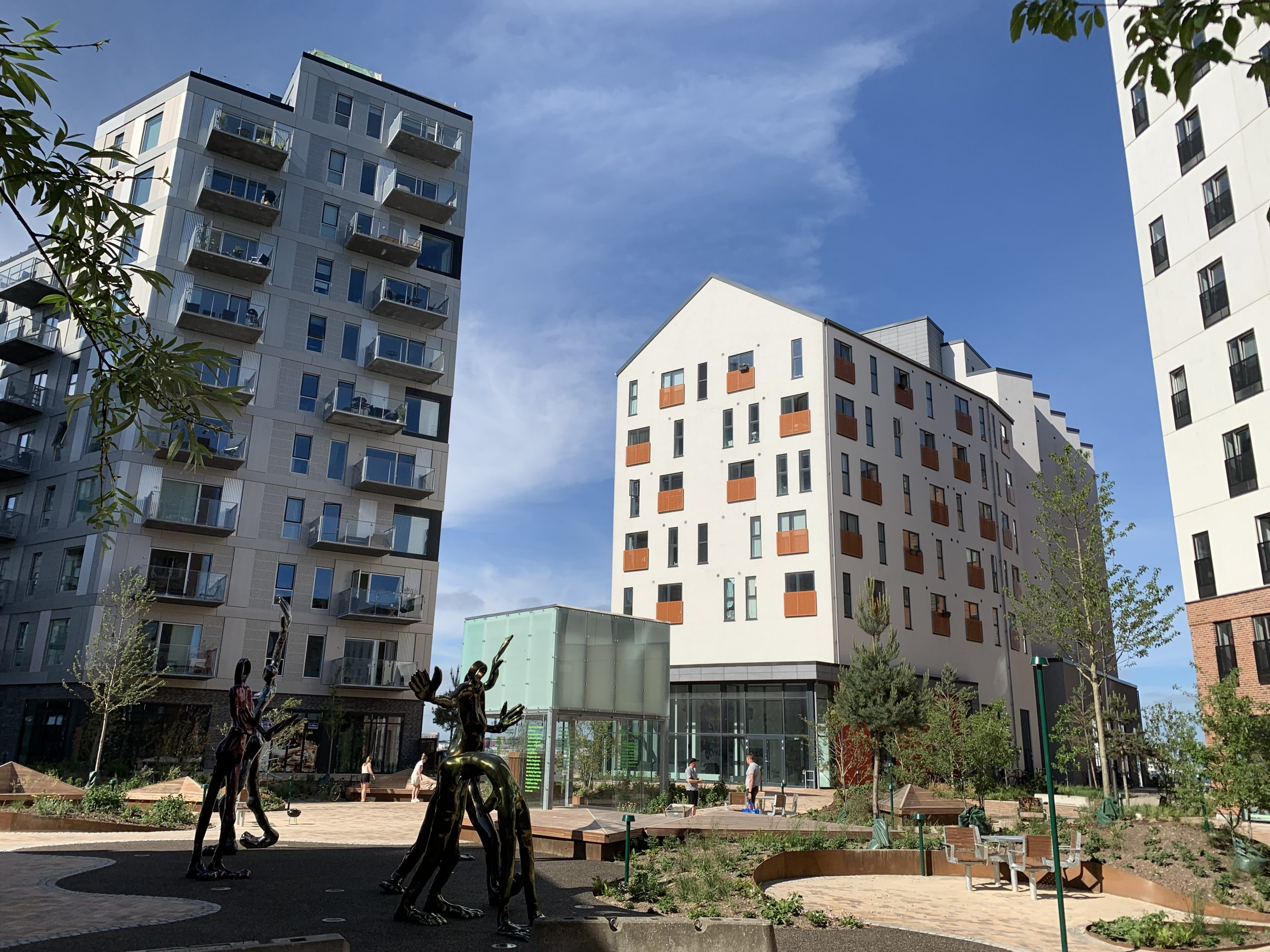 Nyt attraktivt område i Aalborg: Stjernepladsen indvies i denne uge