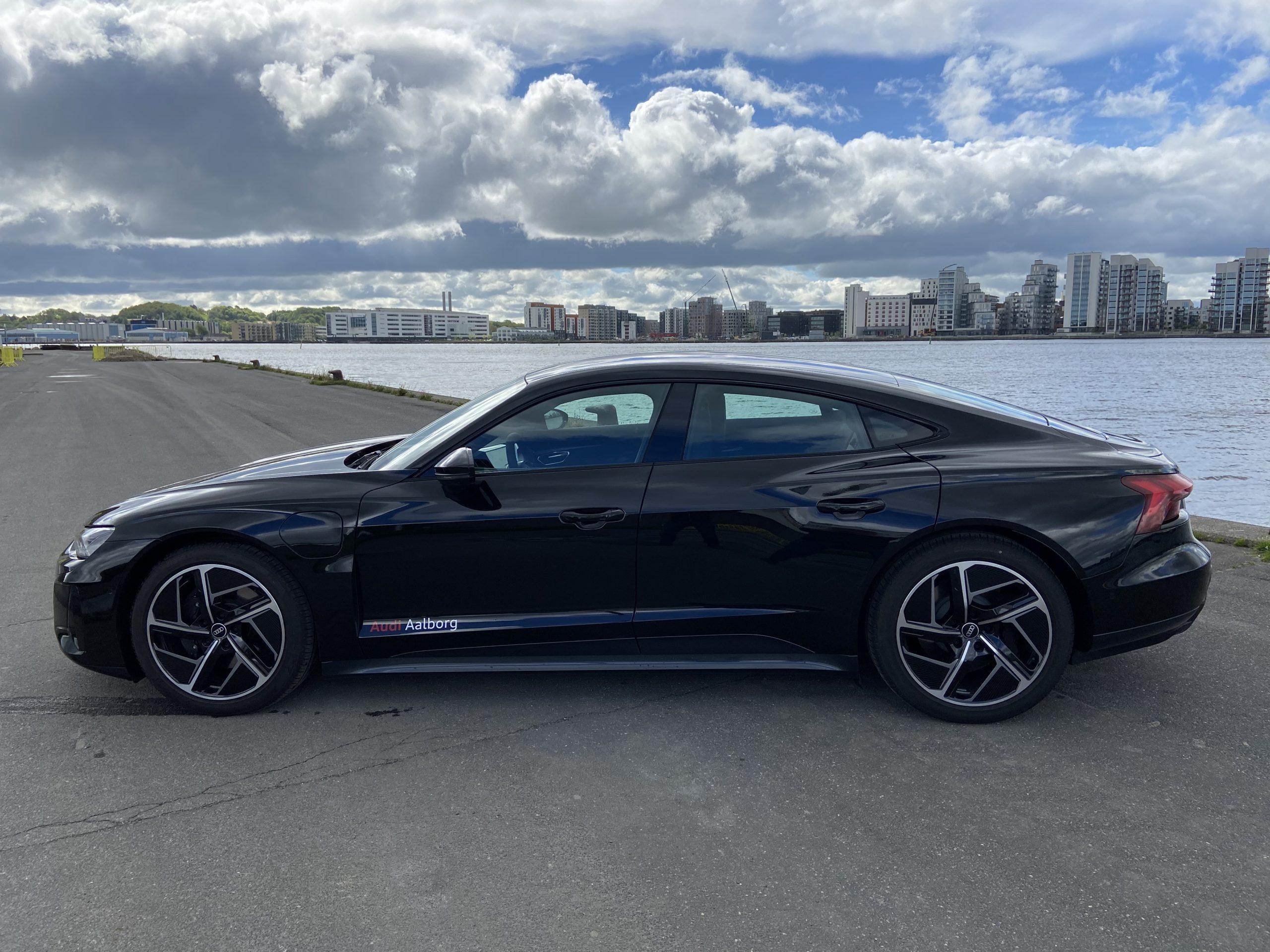 Den er vild: Nu kan du prøve den nye Audi e-tron GT
